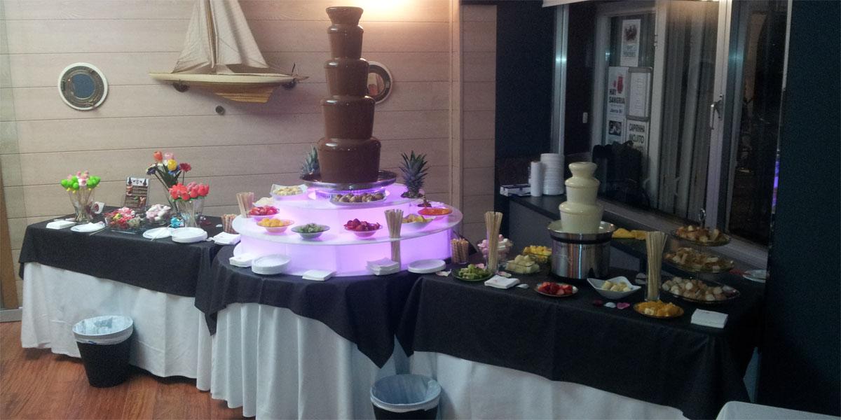 fuentes de chocolate bodas eventos asturias cantabria santander bilbao 234